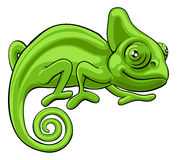 Chameleon Cartoon Character Stock Photos
