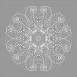 Chameleon circular pattern Royalty Free Stock Image