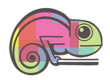 Chameleon icon Royalty Free Stock Image