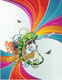 Chameleon  illustration Royalty Free Stock Photo