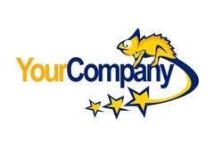 Chameleon logo Royalty Free Stock Photography