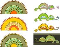 Chameleon2 Imagens de Stock