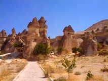 Chaminé da fada de Cappadocia Turquia Fotografia de Stock Royalty Free