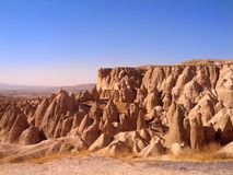 Chaminé da fada de Cappadocia Turquia Fotografia de Stock