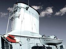 Chaminé do navio Foto de Stock