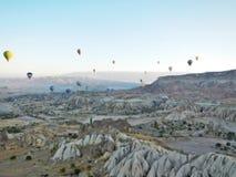 Chaminés de Cappadocia Imagem de Stock Royalty Free