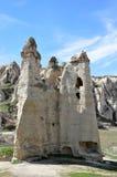 Chaminés feericamente de Cappadocia em Turquia Imagem de Stock