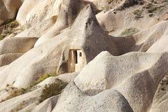 Chaminés feericamente em Cappadocia, Turquia Fotografia de Stock