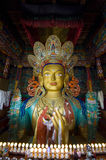 Chamkhang, statue of the future buddha, Leh Royalty Free Stock Images