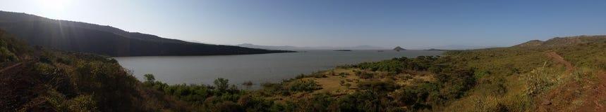 Chamo озера, Эфиопия Стоковое Фото