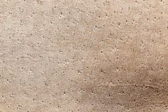 Chamois leather texture. Can use as natural background Royalty Free Stock Photography