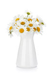 Chamomile bouquet in vase Stock Photo