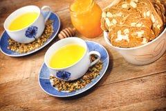 Chamomile - camomile tea Stock Photos