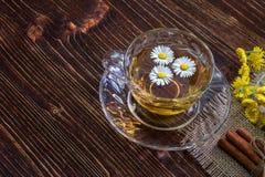 Chamomile herbata Zdjęcie Royalty Free