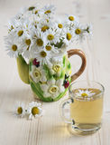 Chamomile herbata Zdjęcie Stock