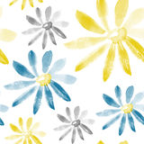 Chamomile seamless texture Stock Photography