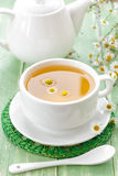 Chamomile tea. In a cup Stock Images