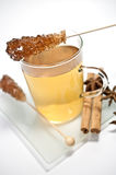 Chamomile tea and spiece Royalty Free Stock Photography