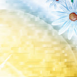 chamomilen bildar konstigt royaltyfri illustrationer