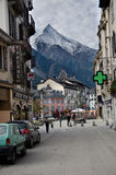 Chamonix, Франция Стоковое Изображение
