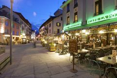 Chamonix Royalty Free Stock Images