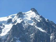 Chamonix Photo libre de droits