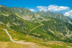 Chamonix Alpine Trails Stock Fotografie