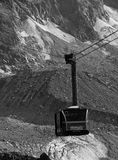 Chamonix cable car Royalty Free Stock Image