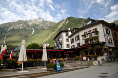 Chamonix, France royalty free stock photos