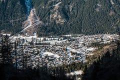 Chamonix France Stock Photo