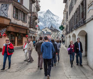 Chamonix, France Street View Stock Photography