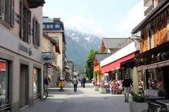 Chamonix, Francia Fotografia Stock Libera da Diritti