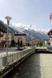 Chamonix, Francia Immagine Stock