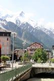 Chamonix, Francia Immagini Stock Libere da Diritti