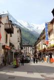 Chamonix, Francia Fotografie Stock