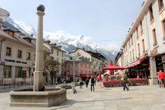 Chamonix, Francia Immagine Stock Libera da Diritti