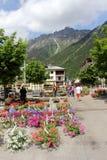 Chamonix, Francia Immagini Stock
