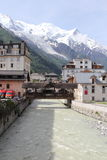 Chamonix, Francia Fotografie Stock Libere da Diritti