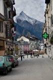 Chamonix Frankrike Fotografering för Bildbyråer
