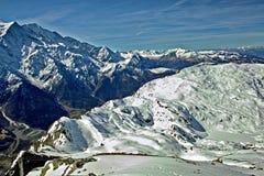 chamonix góry Zdjęcie Stock