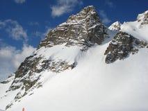 Chamonix im Februar 2014 Stockbilder