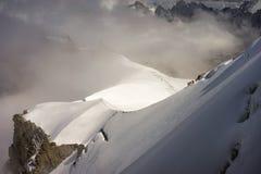 Chamonix Mont Blanc fotografía de archivo libre de regalías