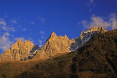 Chamonix Mont Blanc foto de stock royalty free
