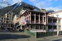 Chamonix Mont Blanc Γαλλία στοκ φωτογραφία με δικαίωμα ελεύθερης χρήσης