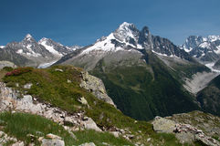 Chamonix Mont Blanc Photo stock
