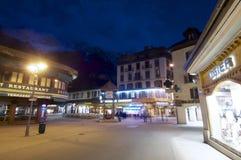 Chamonix-Mont-Blanc Fotografie Stock Libere da Diritti