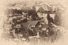 Chamonix-Mont-Blanc Immagini Stock Libere da Diritti