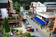 Chamonix-mont-BLANC Stock Afbeelding