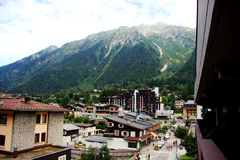 Chamonix-mont-BLANC Στοκ φωτογραφία με δικαίωμα ελεύθερης χρήσης