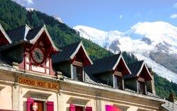 Chamonix-mont-BLANC Στοκ εικόνα με δικαίωμα ελεύθερης χρήσης